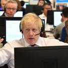 Boris Johnson has committed to cutting immigration if he wins the election (Adrian Dennis/PA)