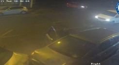 Still taken from CCTV footage issued by West Midlands Police of a vehicle involved in a fatal collision in Coventry which led to the death of Aaron WIlson. (Credit: West Midlands Police/PA)