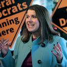 Jo Swinson has called on Labour supporters in Tory-Lib Dem marginals to vote for her party to prevent the Conservative from winning (Aaron Chown/PA)