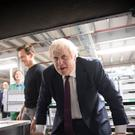Boris Johnson on the campaign trail (Stefan Rousseau/PA)