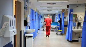 In an unprecedented move, organisations that represent thousands of doctors and nurses have come together to issue a desperate plea to politicians to find an end to the deadlock that has been going on for nearly three years (stock photo)