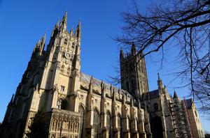 A statue of Bishop George Bell will be installed at Canterbury Cathedral (Chris Ison/PA Images).