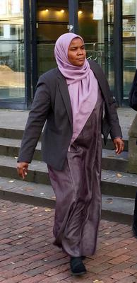 Dr Hadiza Hawa-Garba who was found guilty of gross negligence manslaughter (Alexander Britton/PA)