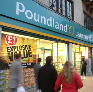 Poundland has acquired 113 shops left vacant after a series of well-known names collapsed into administration in the past five years