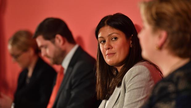 Lisa Nandy was critical of her rivals (Jacob King/PA)
