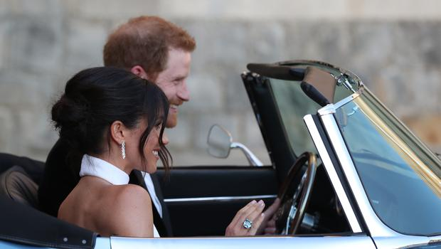 The newly married Duke and Duchess of Sussex, Meghan Markle and Prince Harry (Steve Parsons/PA)