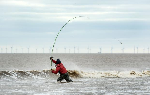 Angling is permitted from Wednesday (Danny Lawson/PA)