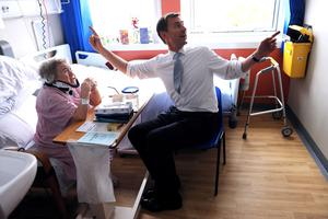 Health Secretary Jeremy Hunt had announced  an increase in the medical training programme last year (PA)
