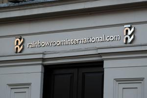The Rainbow Room hairdressers in Glasgow's Royal Exchange Square (Andrew Milligan/PA)
