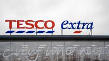 Tesco has hailed a surge in festive sales (Joe Giddens/PA)