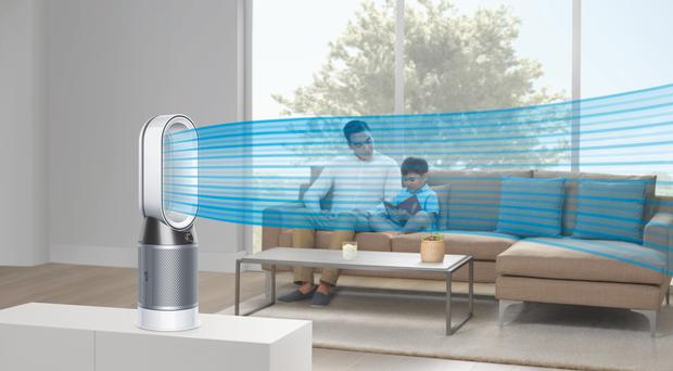 The Dyson fan was shown from several different angles (Dyson/PA)