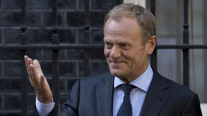 President of the European Council Donald Tusk (Rick Findler/PA)