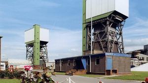 The UK Coal site at Kellingley Colliery, North Yorkshire