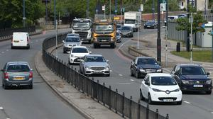 The number of miles being driven on UK roads has increased by more than a fifth since the second week of the coronavirus lockdown due to 'boredom', new figures indicate (Jonathan Brady/PA)