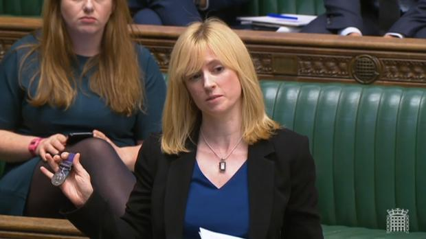 MP Rosie Duffield has quit as a party whip after a admitting breaking lockdown rules (PA)