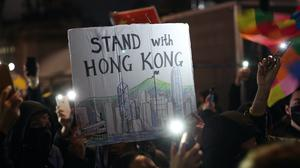 Protests against the new national security law in Hong Kong have taken place across the world (Yui Mok/PA)