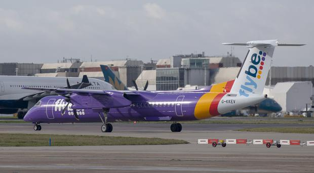 Rival airlines have called on the Government to reveal details of its Flybe deal (Steve Parsons /PA)