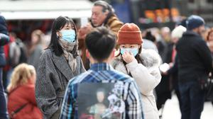 The public has been told to prepare itself in case 'social distancing' policies are needed to help contain the spread of the virus (Yui Mok/PA)