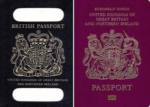 Brexit will bring changes to the design of British passports (PA)