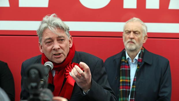 Richard Leonard made the comments during a visit from Jeremy Corbyn to Scotland (Andrew Milligan/PA)