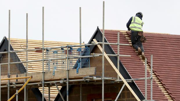 Construction faces a shortage of skilled workers, the report warned (Gareth Fuller/PA)
