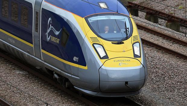 Eurostar has been operating cross-Channel rail services since November 14 1994 (Gareth Fuller/PA)
