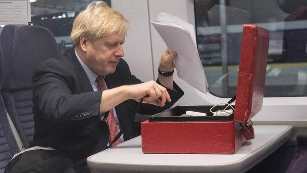 Prime Minister Boris Johnson has previously expressed scepticism about whether HS2 should be built (Stefan Rousseau/PA)