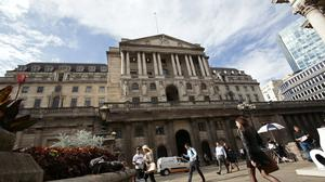 The gold bullion is being held in the vaults of the Bank of England (Yui Mok/PA)
