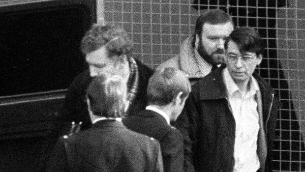 Dennis Nilsen (right) has died behind bars aged 72 (PA)