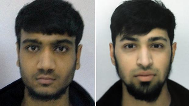 Hassan Munshi, left, and Talha Asmal, both 17, are believed to have travelled to Syria (family handout/PA Wire)