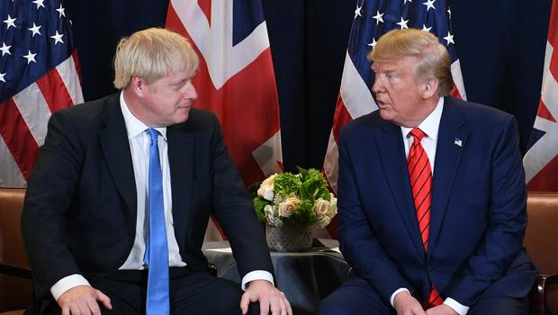 PM Boris Johnson has appointed a new ambassador to the US amid reports of a row with President Donald Trump (Stefan Rousseau/PA)