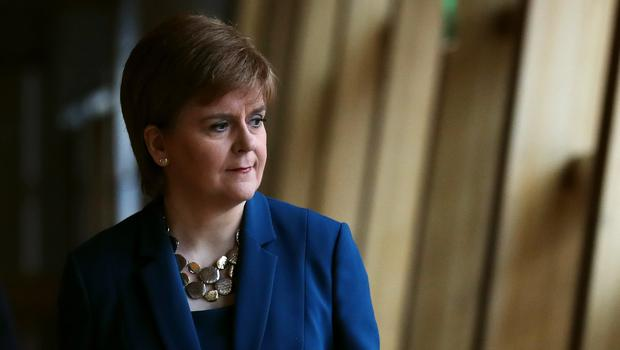 Nicola Sturgeon wants to restart the debate about Scottish independence (Andrew Milligan/PA)