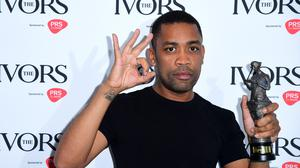 Wiley with the Ivor Inspiration Award during the Annual Ivor Novello Songwriting Awards at Grosvenor House in London.