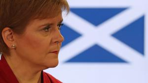 Scotland's First Minister Nicola Sturgeon (Andrew Milligan/PA)