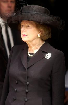Six of the former Prime Minister's outfits have been given to the Victoria & Albert Museum by her children and grandchildren