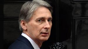 Philip Hammond approved moves to treat injured Ukrainian soldiers in the UK