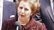 Newly-published records reveal an attack on one of Margaret Thatcher's Cabinet meetings