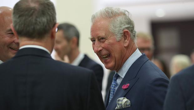 Charles learned how the agency's work had changed when he attended an event to celebrate the 150th anniversary of the Press Association (Yui Mok/PA)
