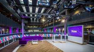 The set is based in the broadcaster's Glasgow office (BBC/Alan Peebles)