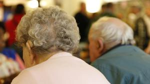 Residents in long-term care make up almost half of all coronavirus deaths in Europe, the WHO said (Jonathan Brady/PA)