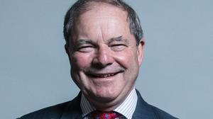 Sir Geoffrey Clifton-Brown was ordered home after clashing with conference security staff (Chris McAndrew/UK Parliament/Att/PA)
