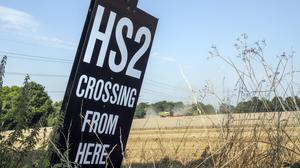Anti-HS2 protesters are putting workers are risk by breaching social distancing guidelines near construction sites, the boss of the company developing the railway said (Steve Parsons/PA)