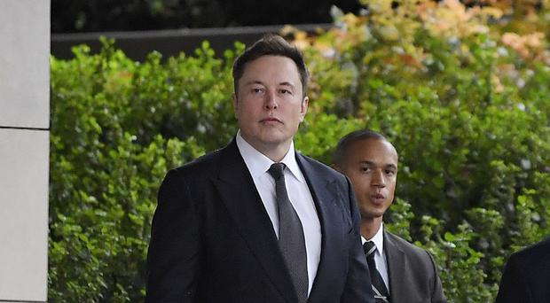 Elon Musk said 'my faith in humanity is restored' after a jury took less than an hour to rule he was not liable in a defamation case involving a British cave explorer (AP Photo/Mark J. Terrill)