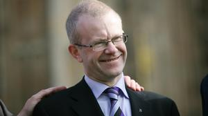 John Mason said he planned to continue to hold face-to-face surgeries (Katie Collins/PA)