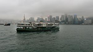 A ferry boat in Hong Kong (Anthony Devlin/PA)