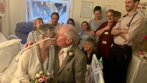 The wedding was organised in a day (East Kent Hospitals University NHS Foundation Trust)