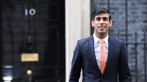 Newly installed Chancellor of the Exchequer Rishi Sunak (Stefan Rousseau/PA)