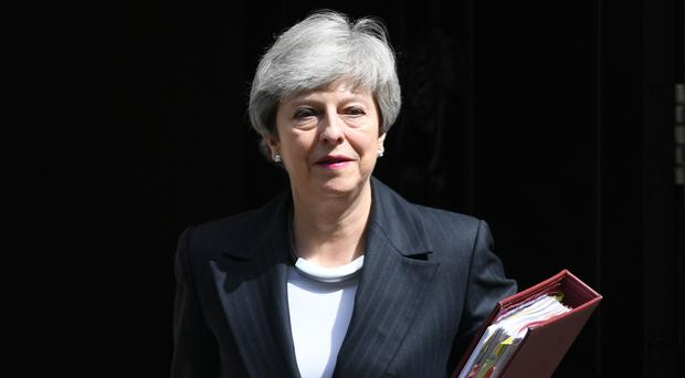 Prime Minister Theresa May is under pressure to announce a timetable to resign (Stefan Rousseau/PA)
