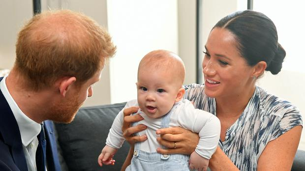 The Sussexes are now based in Los Angeles (Toby Melville/PA)