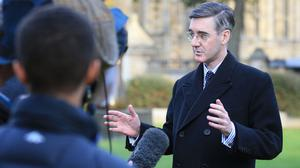 Jacob Rees-Mogg has dismissed rumours he is gearing up to challenge for leadership of the Tories (Jonathan Brady/PA)